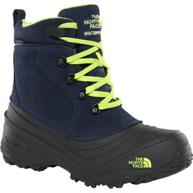The North Face Chilkat Lace II Stiefel Kinder cosmic blue/lime green